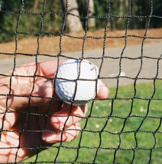 Golf Barrier Nets; Outdoor #21 Medium-Impact Netting; For Home, Driving Ranges, Fairways, Golf Courses, and Indoor Golf Net.