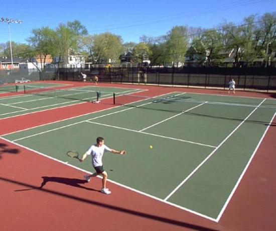 Tennis Barrier Nets; Outdoor #21 Medium-Impact and #42 High-Impact Netting; For Home, Tennis Courts, Stadiums and Arenas, Recreational Parks, Schools.
