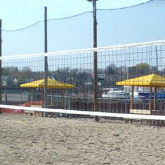 Volleyball Barrier Nets; Outdoor #21 Medium-Impact and #42 High-Impact Netting; For Home, Indoor and Sand Volleyball Courts, Recreational Parks, Schools.
